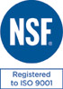 NSF | ISO 9001:2008 Certified